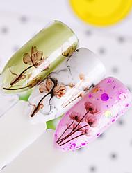 abordables -1 Tatuajes Decoración Pegatinas de uñas 3D Moda Diario Alta calidad