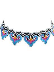 abordables -Femme Collier court / Ras-du-cou  -  Basique Mode Forme Géométrique Noir Violet Colliers Tendance Pour Quotidien Rendez-vous