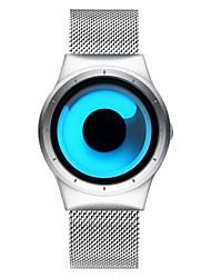 preiswerte -BIDEN Herrn Einzigartige kreative Uhr Modeuhr Armbanduhren für den Alltag Japanisch Quartz Wasserdicht Edelstahl Band Luxus Freizeit