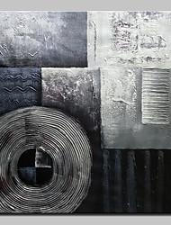 Ручная роспись Абстракция Простой Modern 1 панель Холст Hang-роспись маслом For Украшение дома