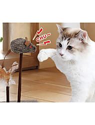 preiswerte -Katzenspielsachen Haustierspielsachen Quietsch- Spielzeuge quietschen Maus Für Haustiere
