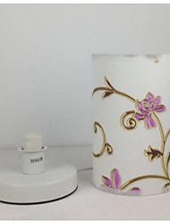 billige -Kunstnerisk Øjenbeskyttelse Bordlampe Til Stof 220 V Lys Lilla