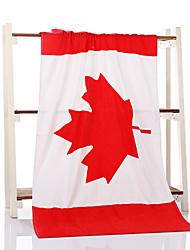 Недорогие -Свежий стиль Набор банных полотенец,Государственный флаг Высшее качество Полиэстер/Хлопок Полотенце