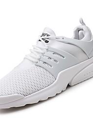 Masculino sapatos Materiais Customizados Courino Tecido Inverno Outono Conforto Tênis Corrida Para Atlético Casual Branco Preto Vermelho