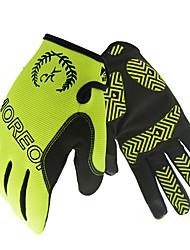 baratos -Luvas Esportivas Luvas de Ciclismo Vestível Respirável Anti-Derrapante Dedo Total Silicone Náilon Ciclismo de Estrada Ciclismo / Moto Mota