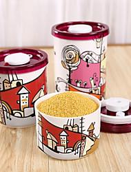 1pcs Кухня Керамика Хранение продуктов питания