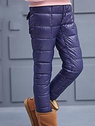 preiswerte -Mädchen Hose Ausgehen Solide Baumwolle Winter