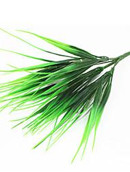 30cm 4 Pcs 56 leave/branch Green Grass Home Decoration Artificial Grass