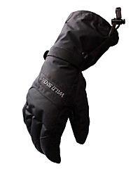 Недорогие -Лыжные перчатки Универсальные Снежные виды спорта Полный палец Зима Сохраняет тепло полиэстердля печати Катание на лыжах Пешеходный туризм На открытом воздухе