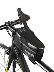 cheap -Bike Bag 1.5LBike Frame Bag Waterproof Zipper Bicycle Bag Nylon Cycle Bag Cycling Cycling