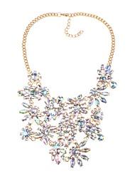 cheap -Women's Irregular Classic Fashion Elegant Statement Jewelry Pendant Necklace Crystal Crystal Alloy Pendant Necklace , Party Ceremony