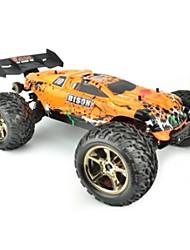 abordables -Coche de radiocontrol  JJRC V2 2.4G 4WD Alta Velocidad Drift Car Buggy (de campo traversa) 1:10 70 KM / H Control remoto Recargable