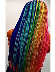 cheap -Box Braids Afro African Braids New Arrival Synthetic Hair 1pc/pack Pre-loop Crochet Braids Hair Braids Long