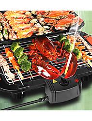 Cozinha Aço Inoxidável 220 Chapas de cozinha elétrica & Grills Fabricantes de pizza e fornos