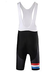Pantalones Acolchados de Ciclismo Hombre Bicicleta Petos de deporte/Culotte con tirantes Prendas de abajo Ropa para Ciclismo Secado