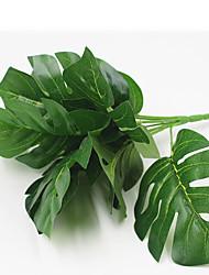 32cm 2 Pcs 9 head/branch Turtle leaves Home Decoration Artificial Grass