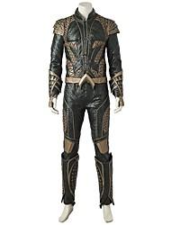 economico -Costumi da supereroi Cosplay Costumi Cosplay Costume Cosplay da film Oro Top Pantaloni Guanti Altri accessori Halloween Carnevale