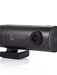 ddpai mini coche dvr cámara 1080 p video grabador condensador wifi coche cámara dvr con doble usb cargador de coche para Android y iOS
