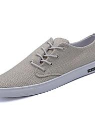 economico -Da uomo Scarpe Denim Primavera Autunno Comoda Sneakers Per Casual Bianco Nero Cachi