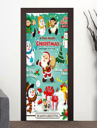 cheap -Christmas 3D Wall Stickers 3D Wall Stickers Decorative Wall Stickers,Vinyl Home Decoration Wall Decal For Wall