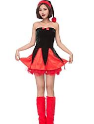 Costumes de père noël père Noël Robe de Noël Noël Halloween Carnaval Nouvel an Fête d'Octobre Fête / Célébration Déguisement d'Halloween