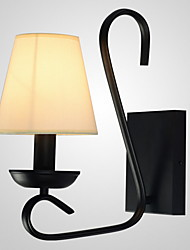 cheap -Wall Light Ambient Light Wall Sconces 40W 220V E14 Rustic/Lodge Country Stainless Steel