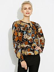 billige -Dame - Blomstret I-byen-tøj Bluse