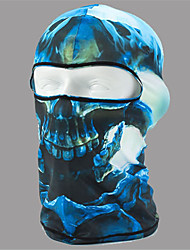 cheap -Balaclava All Seasons Windproof Dust Proof Breathability Sunscreen Hiking Cycling / Bike Motobike/Motorbike Unisex Lycra Bone