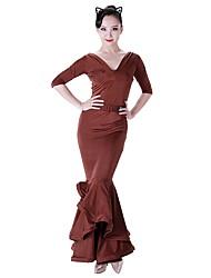 preiswerte -Für den Ballsaal Unten Damen Leistung Tüll Eis-Seide Normal Röcke