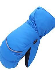 preiswerte -Handschuhe fürs Skifahren Kinder Vollfinger warm halten Skifahren Winter