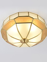 baratos -4-luz Montagem do Fluxo Luz Ambiente - Estilo Mini, 110-120V / 220-240V Lâmpada Não Incluída / 15-20㎡ / E26 / E27