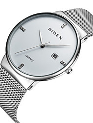 cheap -BIDEN Women's Wrist Watch Japanese Calendar / date / day / Casual Watch Stainless Steel Band Casual / Fashion / Elegant Black / Silver / Rose Gold