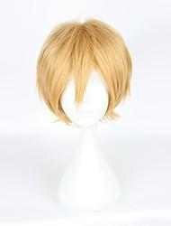 abordables -Pelucas de Cosplay Black Butler Belphegor Animé Pelucas de Cosplay 35cm CM Fibra resistente al calor Hombre Mujer