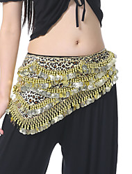 cheap -Belly Dance Belt Women's Polyester Coins Sequins