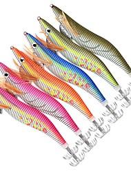 """preiswerte -6 Stück Angelköder Fischen-Werkzeuge Harte Fischköder Flusskrebse / Garnele g/Unze,150mm mm/5-9/16"""" Zoll Seefischerei Köderwerfen"""
