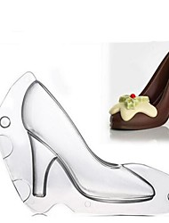 cheap -3D High Heel Shoe Mould Chocolate Candy Decorating Jelly Cake Mold Baby Handmade