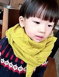 Unisex Scarves,Winter Sweater Yellow Beige