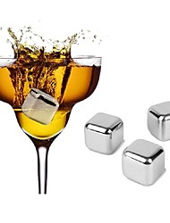abordables -Moderne / Contemporain Acier inoxydable, Du vin Accessoires Haute qualité CréatifforBarware 2.6*2.*2.6cm cm 0.03kg kg