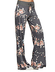 cheap -Women's Print Legging - Print, Floral Low Waist