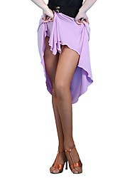 abordables -Danse latine Echarpe de Danse du Ventre Femme Utilisation Soie Glacée Echarpe de hanche de danse du ventre