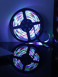 cheap -Waterproof 600 LEDs 5M LED Strip Light RGB+White Cuttable Self-adhesive AC Powered