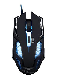 economico -chasing Panther v10 wired usb game game mouse 6 dpi regolabile a pulsante