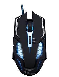 Недорогие -chasing panther v10 wired usb interface game mouse 6-кнопочный регулируемый dpi