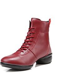 """economico -Da donna Stivaletti da danza Pelle Sneaker All'aperto A fantasia Piatto Rosso Sotto 1 """" Personalizzabile"""