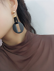 cheap -Women's Drop Earrings - Leather Sweet, Fashion Gray / Green / Wine For Daily / Street