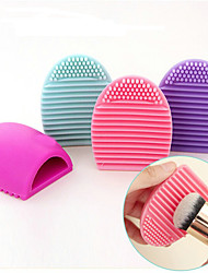 cheap -Non-personalized silicone brushegg Her Bride Bridesmaid Parents Coworkers Friends To-Go Daily Wear-7.5*4.5*2.5