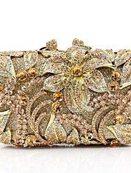 cheap -Women's Bags Metal Evening Bag Pearl Detailing for Event/Party All Seasons Gold