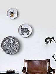 Декор стены цинк Абстракция Предметы искусства,Настенные полки и Ledges из 3