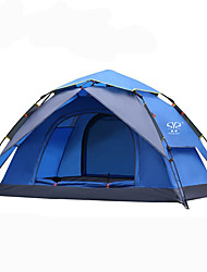 cheap -Sheng yuan 2 persons Tent Double Camping Tent One Room Automatic Tent Mountaineering Folding for Outdoor Exercise Camping / Hiking /
