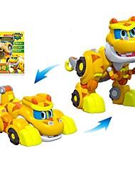 abordables -Robot Barcos de juguete Coche de carreras Juguetes Dinosaurio Animales Animales Animal Vehículos Animales Transformable Interacción
